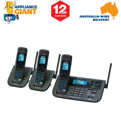 Uniden XDECTR0552 Series Extended Digital Technology Cordless Phone System