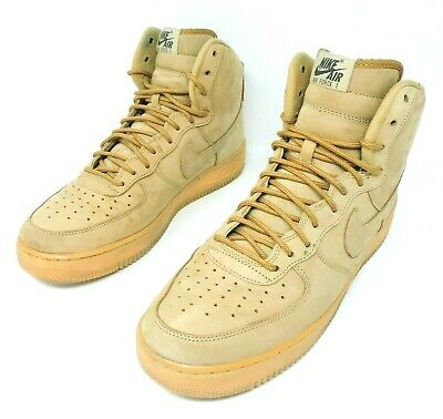 wholesale dealer 9c433 91bf1 Nike Air Force 1 High Flax Wheat Style 882096-200 Size 10.5 USED