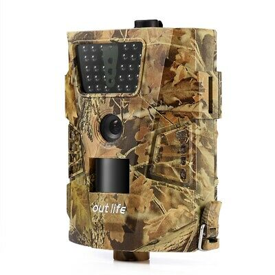 Video Camera Hunting Trap 12MP Outlife 1080P Trail LEDs Digital Full HD With Box