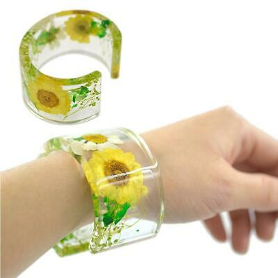 Ring Open Cuff Silicone Mold Jewelry Making Bracelet Bangle Mould Resin Flower