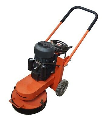 3kw Electric Hand Push Cement Ground Concrete Grinder Polisher Floor 220v