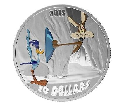 5b5cc8e97fbab 2015  10 Looney Tunes -The Road Runner vs Coyote - 99.99% 2oz Silver Coin