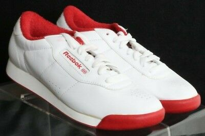f68b3c513b5528 Reebok Classic Princess White Leather Running Walking Sneaker s Women s ...