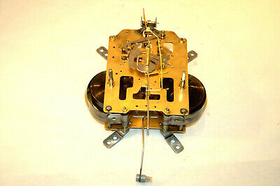 Japanese Time Strike Wall/Mantel Clock Movement, Complete/Clean/Oiled; RUNS!
