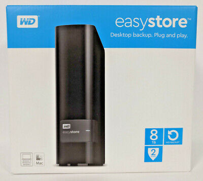 WD EasyStore 8TB External Hard Drive FREE SHIPPING