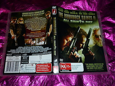 The Boondock Saints Ii All Saints Day : (Dvd, Ma15+)