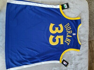 97160549ef8b Nike Icon Authentic Kevin Durant Golden State Warriors Jersey Size XL 863022  496