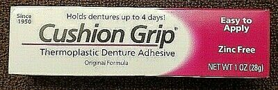 Cushion Grip Thermoplastic Denture Adhesive Original Formula 1 OZ Tube
