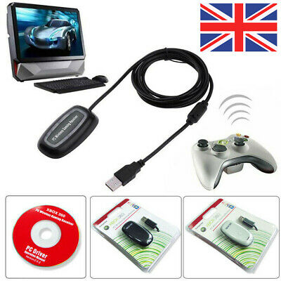 PC A Laptop Computer Wireless Controller Receiver Adapter For Microsoft XBOX 360