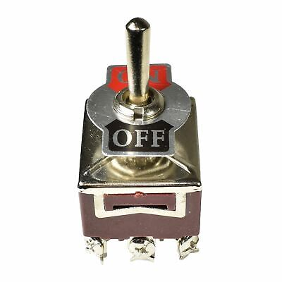 Toggle / Switch with Legend Plate 6 Pin ( Off / On )