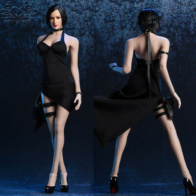 Toys & Hobbies Cooperative Whole Set Figure 1:6 Scale Female Customized Long Evening Dress Diy Accessories With 12 Ph Large Bust Action Figure Doll 100% Original