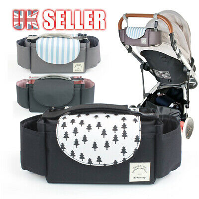 Baby Storage Bottle Holder Buggy Pram Pushchair Organiser Stroller Cup Mummy Bag