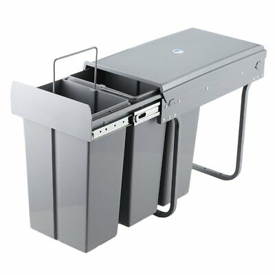 Recycle Bin Pull Out Kitchen Waste For 400mm Unit 30 Ltr Soft Close