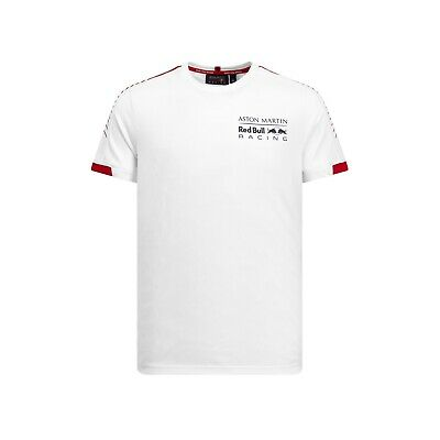 Aston Martin Red Bull Racing Official Men's 'Seasonal' T-shirt - 2019 - White