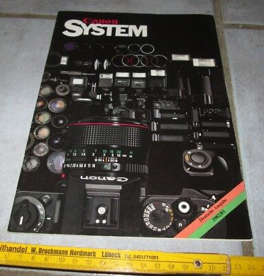 Canon System 1982/83