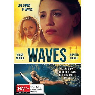 Waves Dvd, New & Sealed, 2019 Release, Free Post