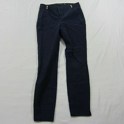 Ivanka Trump Women's Navy Blue Trouser Career Office Work Pants - SZ 4