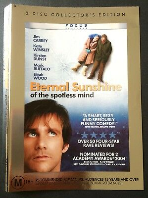 ETERNAL SUNSHINE OF THE SPOTLESS MIND Jim Carrey COLLECTOR'S EDITION DVD