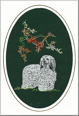 Chinese Crested Scarf Perfect Gift Embroidered by Dogmania