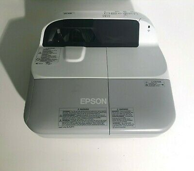 Epson EB-470 Projector 1666 Hours Used - 2600 Lumens - No mount - Refurbished