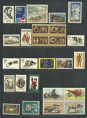 1972 - Commemorative Year Set - US Mint Stamps - Selling At FACE - FREE SHIPPING