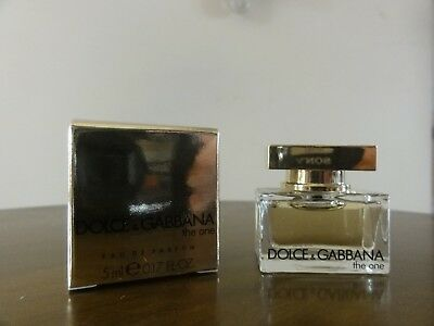 0cfe00777f461 MINIATURE. DOLCE ET gabbana . the one. .. eau de parfum. 5 ml - EUR ...