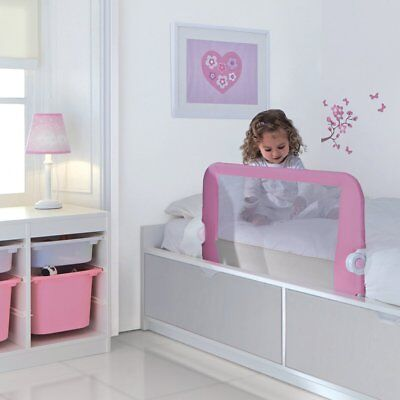Lindam Pink Safety Secure Kids Children's Bed Rail Guard New