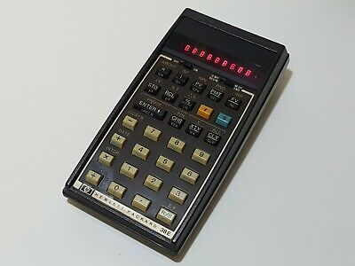 Rare vintage Calculatrice Hewlett Packard Hp 38E