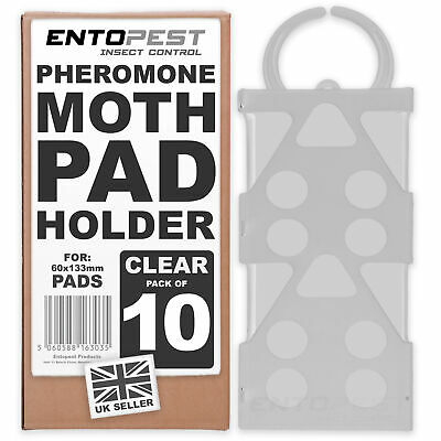 Entopest 10 x Empty Moth Hangers for Professional Pheromone Sticky Pad Traps