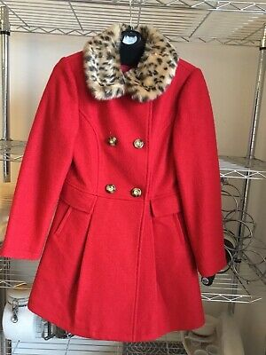 924c74673 GIRLS RED COAT age 9 10. george by asda - £9.99