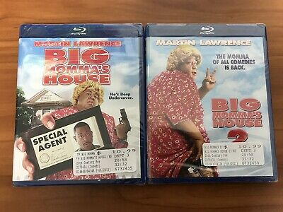 Big Momma's House 1 & 2 Blu-ray Lot Collection