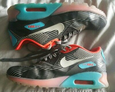 best service a08bf 0d9af Genuine NIKE AIR MAX 90 KJCRD Ice QS Trainers END CLOTHING UK6 Grey Blue