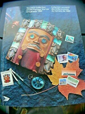 1989 SOUVENIR COLLECTION Stamps of Canada ,mint  stamps included