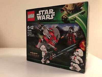 Lego Star Clone Wars 75001 Republic vs Sith Troopers Battle Pack Minifigs Sealed