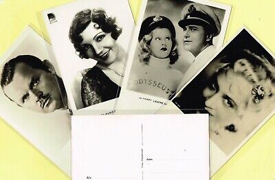 JOS PE (NETHERLANDS) - 1930s (2nd Series) Film Star Postcards #501 to #600
