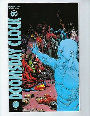 DOOMSDAY CLOCK # 9 (of 12)  DC Comics, VARIANT COVER, May 2019, NEW NM