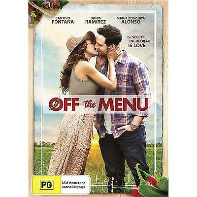 Off The Menu Dvd, New & Sealed, 2018 Release, Region 4, Free Post