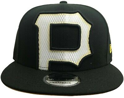 online retailer a086c c12f7 New Era MLB Pittsburgh Pirates Mesh Logo Snapback Official Team Color
