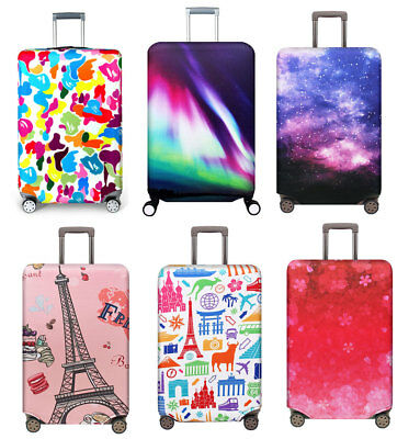 "Luggage Suitcase Elastic Protector Travel 18""-32"" Dustproof Thicker Trolley Case"