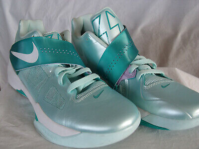 5116b5bf4df4 Nike KD IV 4 Easter 473679-301 Mint Candy Green Kevin Durant Size 10.5 FREE
