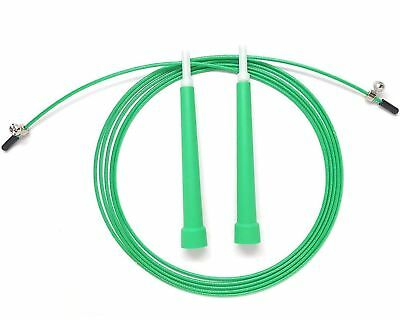Jump Rope Adjustable 10 Ft Cable For Cross Training , CrossFit , Boxing , Fitnes