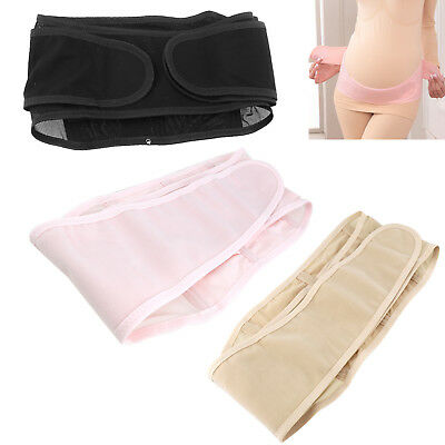 Pregnant Postpartum Maternity Belly Band Back Support Pain Relief Girdle Soft