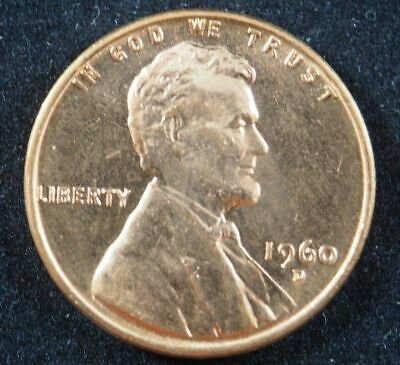 1960 D Small Date Lincoln Memorial Cent Penny (BU) Brilliant Uncirculated