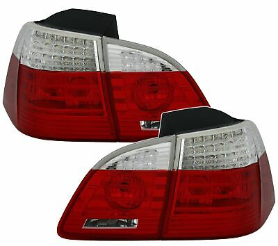 Taillights for BMW 5 Series E61 04-07 TOURING Red White LED BE LDBME0E1 XINO BE