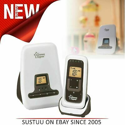 Tommee Tippee Closer to Nature DECT Digital Sound Baby Monitor│Range 300m│New