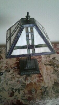 PST Industries Frank Loyd Wright Inspired Tiffany Prairie Style Lamp