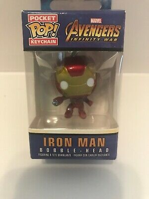 Avengers Infinity War Iron Spider Bobble-Head 27302 Funko Pocket Pop Keychain