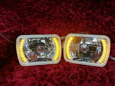 With Amber LED indicators INBUILT Chevrolet Astro GMC Safari CARGO Headlights
