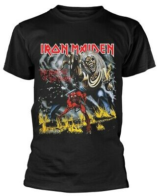 Iron Maiden 'The Number Of The Beast' T-Shirt - NEW & OFFICIAL