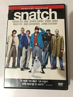 SNATCH DVD 2008 Special Edition Widescreen 2 Disc Set